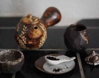 Stoneware teapot 500 ml - 17 oz