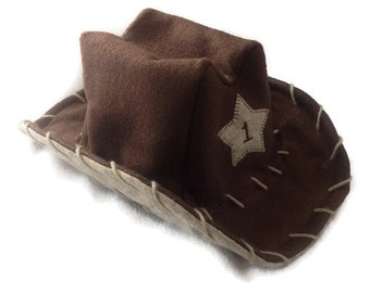 f35a42ed37ca64 Baby Felt Cowboy Hat | Newborn | Infant | Toddler Sizes Available | PICK  YOUR COLOR