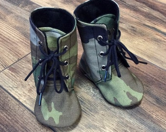 Baby combat boots   Etsy