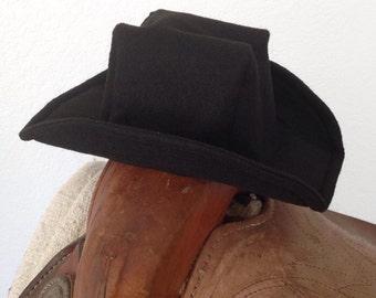 Baby Felt Cowboy Hat | Newborn | Infant | Toddler Sizes Available | PICK YOUR COLOR