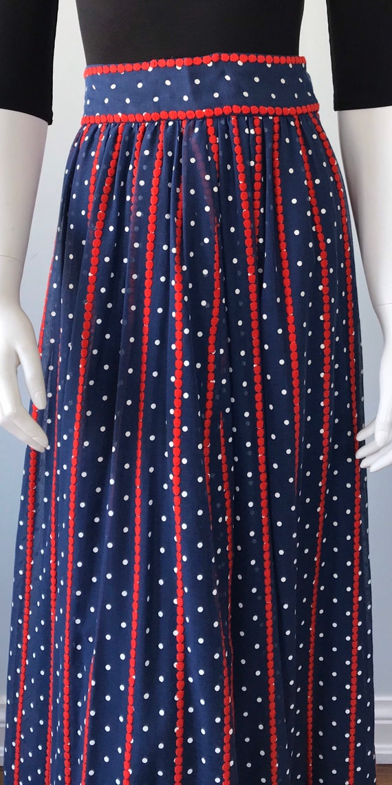 Vintage Helen Howell Maxi Skirt, Vintage Maxi Ski… - image 4