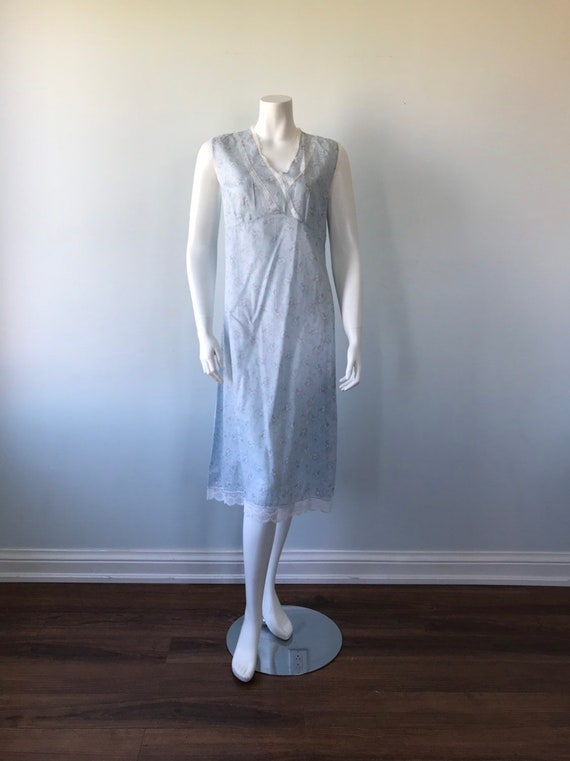 Vintage Cotton Nightgown, Vintage Nightgown, Cott… - image 2