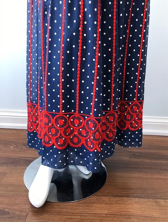 Vintage Helen Howell Maxi Skirt, Vintage Maxi Ski… - image 5