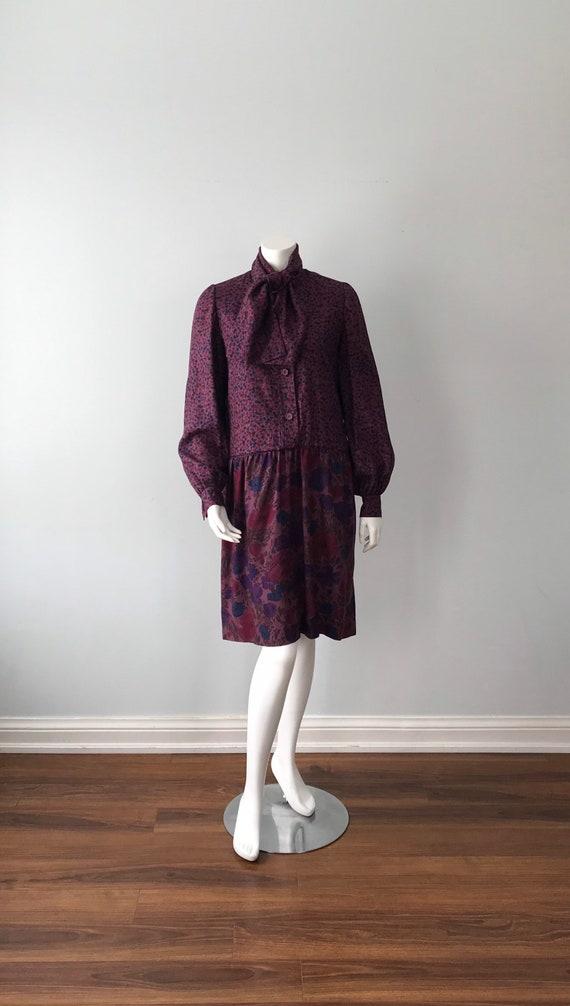 Givenchy, Vintage 1960s Fall Dress, Givenchy Nouv… - image 2