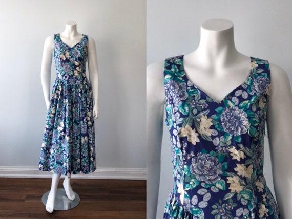 Vintage Laura Ashley Dress, Vintage Dress, 1980s D
