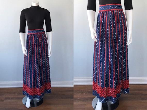 Vintage Helen Howell Maxi Skirt, Vintage Maxi Skir
