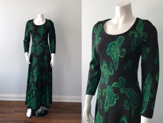 Vintage Dress, Vintage Maxi Dress, Boho Dress, Fes
