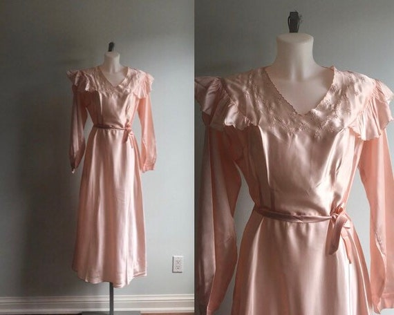 Vintage Nightgown, Vintage Nightgowns, 1940s Night