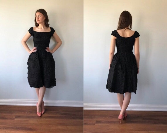 Original by Perfect Junior Evening Dress, 1960s Bl