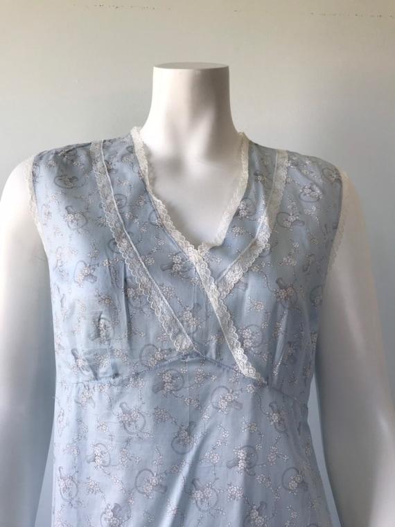 Vintage Cotton Nightgown, Vintage Nightgown, Cott… - image 3