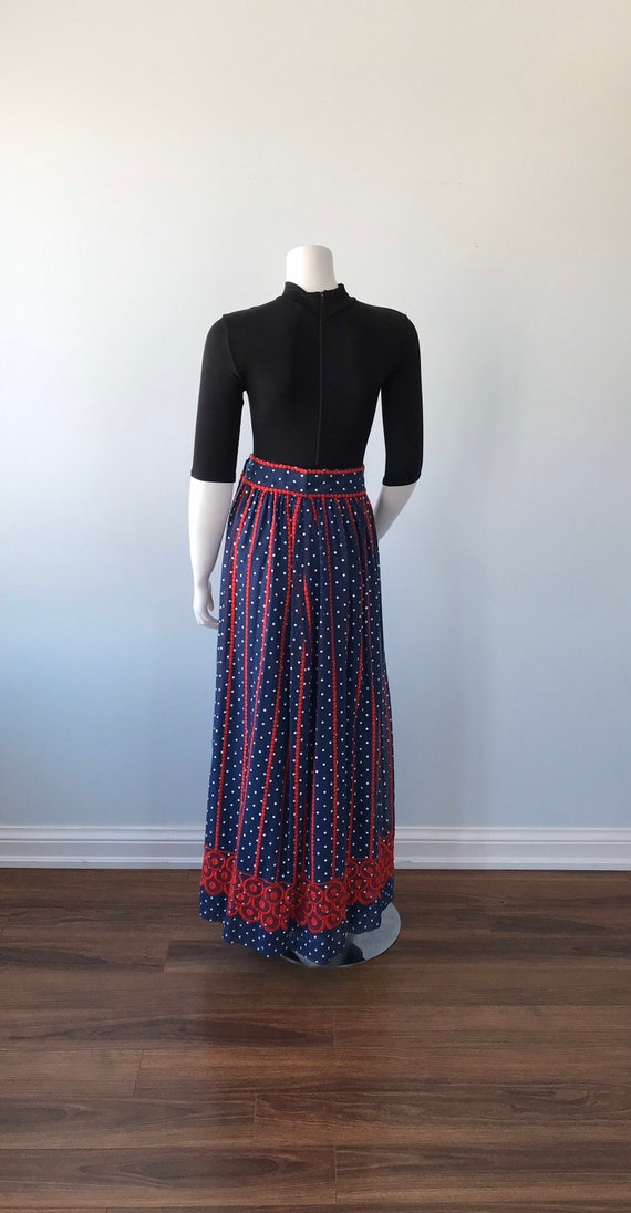 Vintage Helen Howell Maxi Skirt, Vintage Maxi Ski… - image 8