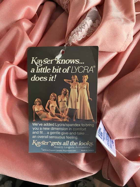 Dusty Pink Nightgown, Kayser, 1980s Nightgown, Vi… - image 8