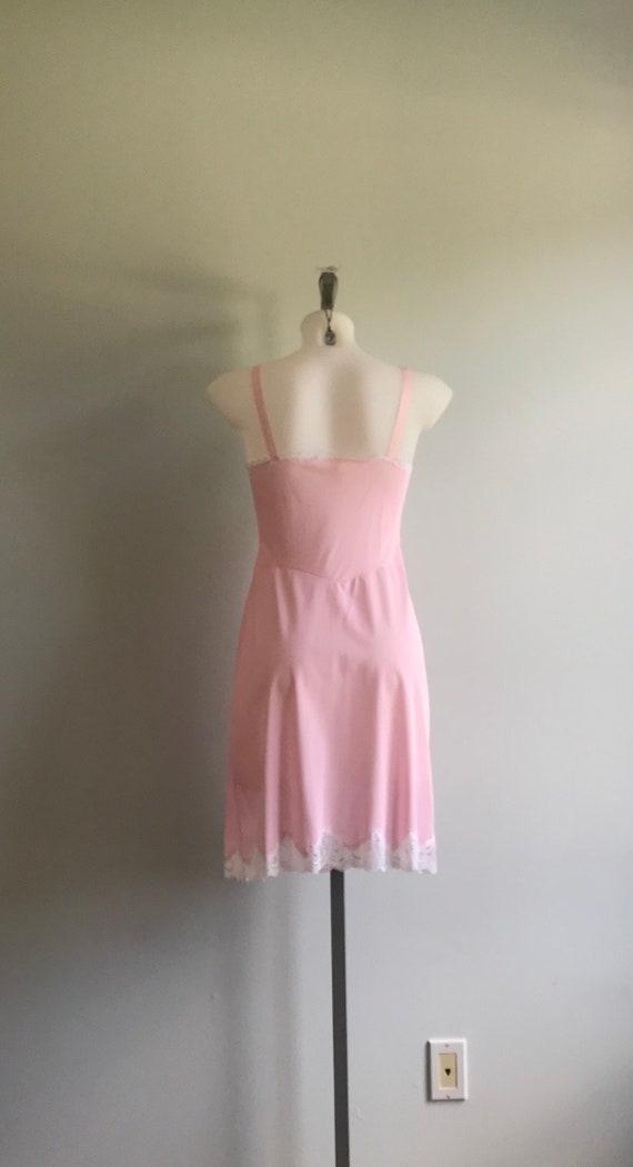 Vintage Pink Slip, Vintage Pink Full Slip, 1960s … - image 7