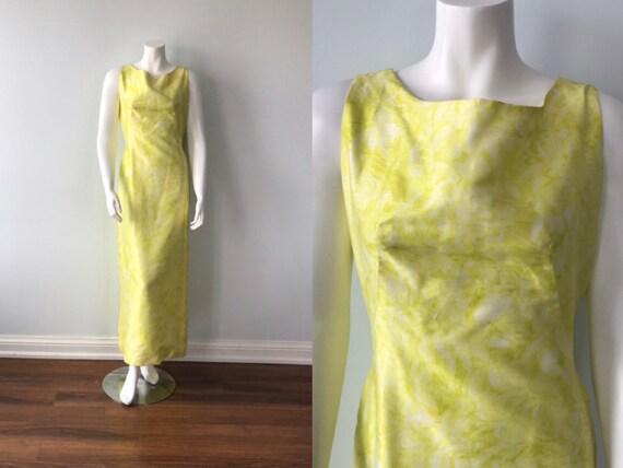 Vintage Gown, Vintage Dress, 1960s Gown, 1960s Dre