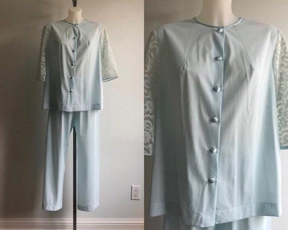 Vintage Pyjama, Vintage Pyjama Set, 1950s Pyjama,