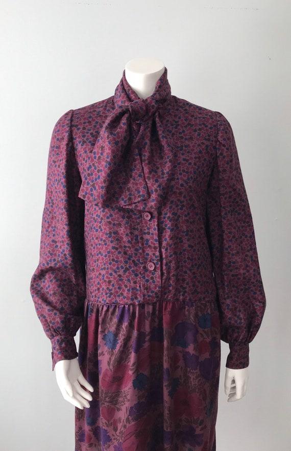 Givenchy, Vintage 1960s Fall Dress, Givenchy Nouv… - image 3