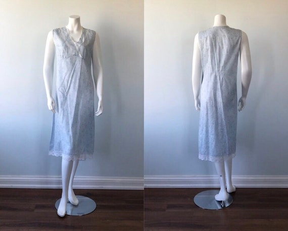 Vintage Cotton Nightgown, Vintage Nightgown, Cotta