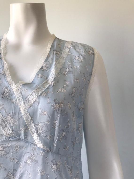 Vintage Cotton Nightgown, Vintage Nightgown, Cott… - image 4