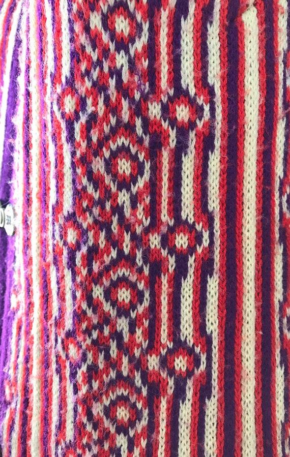 1960s Knit Long Vest, 1960s Wool Vest, Favorite K… - image 9