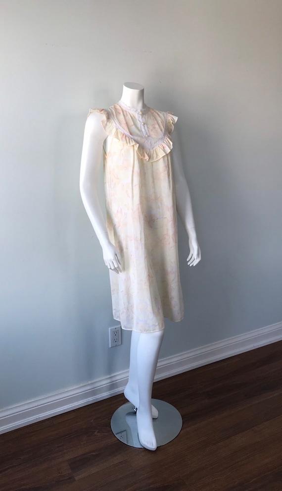 Vintage Floral Nightgown, Lov Lee, Luxelle, Vinta… - image 5