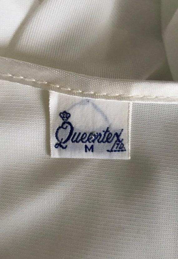 Vintage Whte Chiffon Nightgown, White Chiffon Nig… - image 8