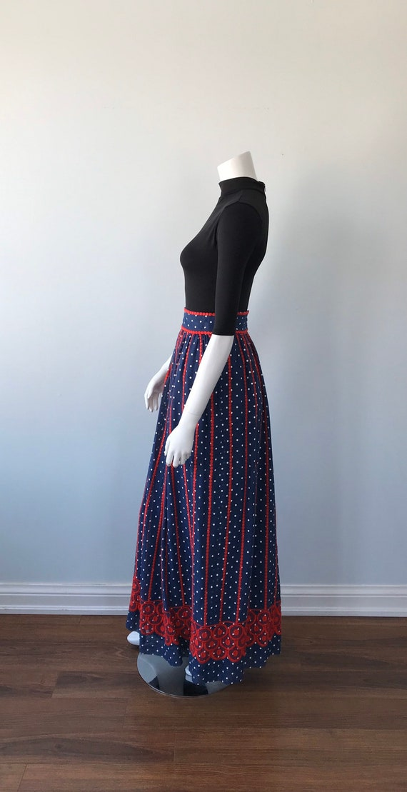 Vintage Helen Howell Maxi Skirt, Vintage Maxi Ski… - image 7