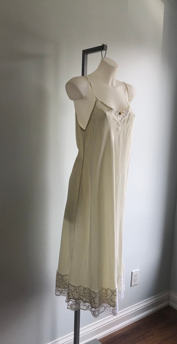 Vintage Cream Nightgown, Ivory Nightgown, Custom … - image 5
