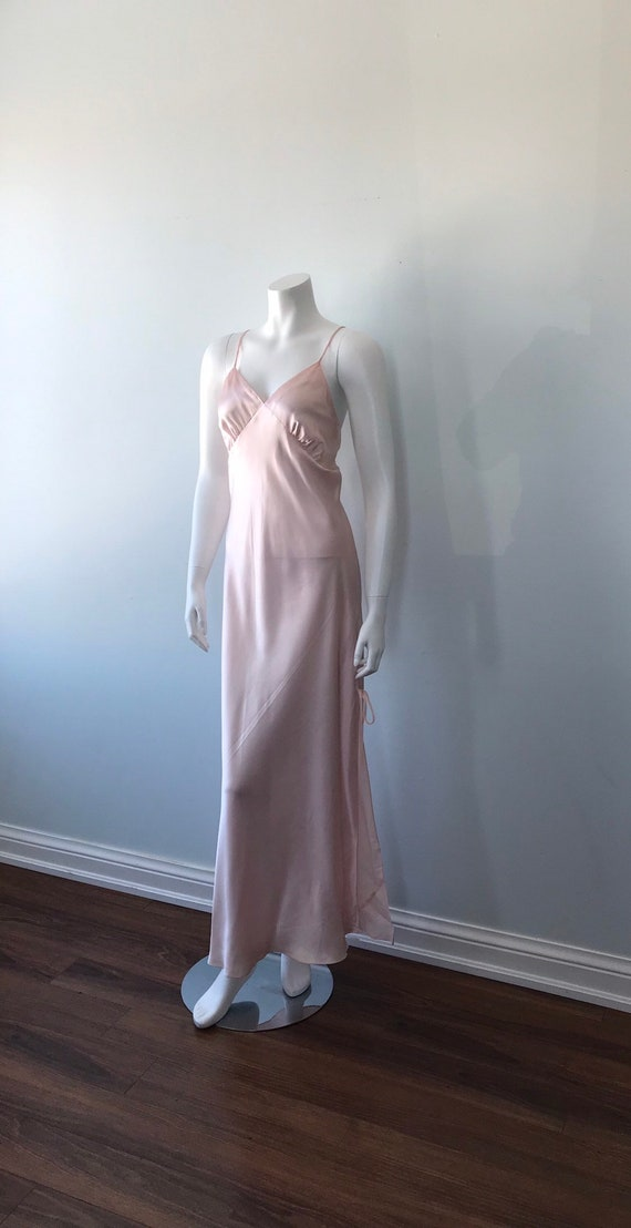 Vintage Pink Nightgown, 1990s Nightgown. Emilio C… - image 6