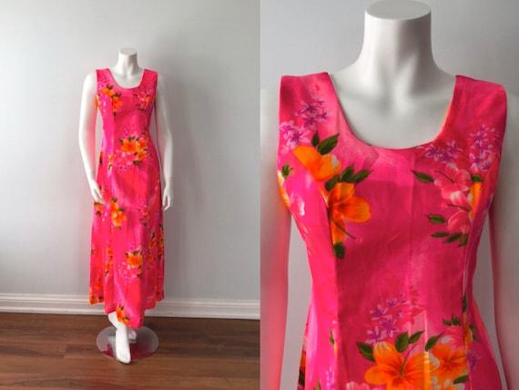 Vintage Sleeveless Summer Dress, Hukilau Fashions,
