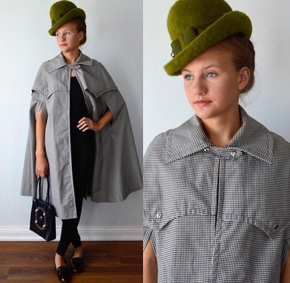 1950s Cape, Vintage Coat, Vintage Cape,  Pacific W