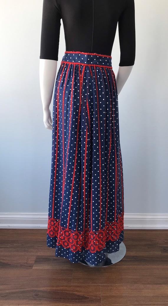 Vintage Helen Howell Maxi Skirt, Vintage Maxi Ski… - image 9