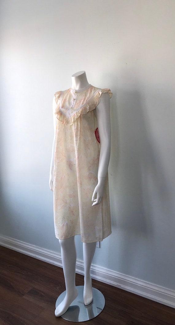 Vintage Floral Nightgown, Lov Lee, Luxelle, Vinta… - image 6