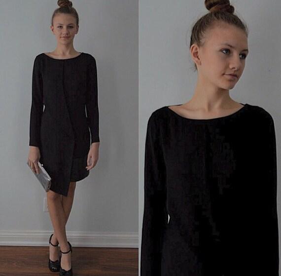 Gucci Black Cocktail Dress, Black Dress, Vintage B