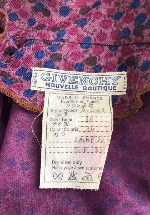 Givenchy, Vintage 1960s Fall Dress, Givenchy Nouv… - image 10