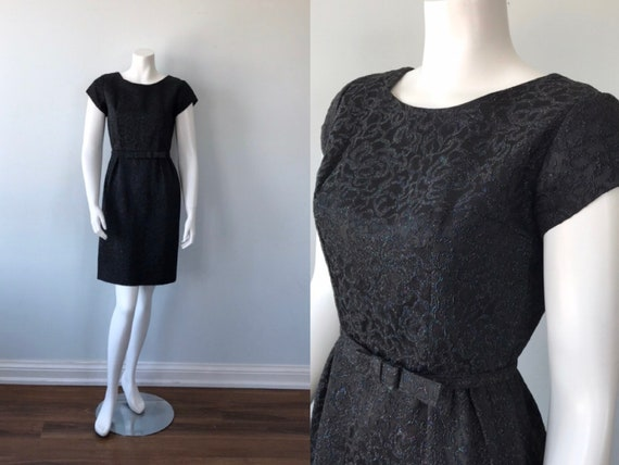 Vintage Dresses, 1950s Dresses. 1950s Black Dress,