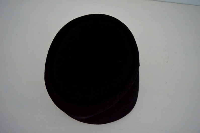 Ladies Hat Felt Hat 1920s Hat Black Felt Hat Hats 1920s Black Hats Vintage Black Hat Vintage Hat Helen Joyce Original