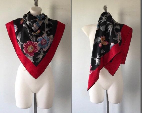 Vintage Liberty Silk Scarf, Liberty, Silk Scarf, 1