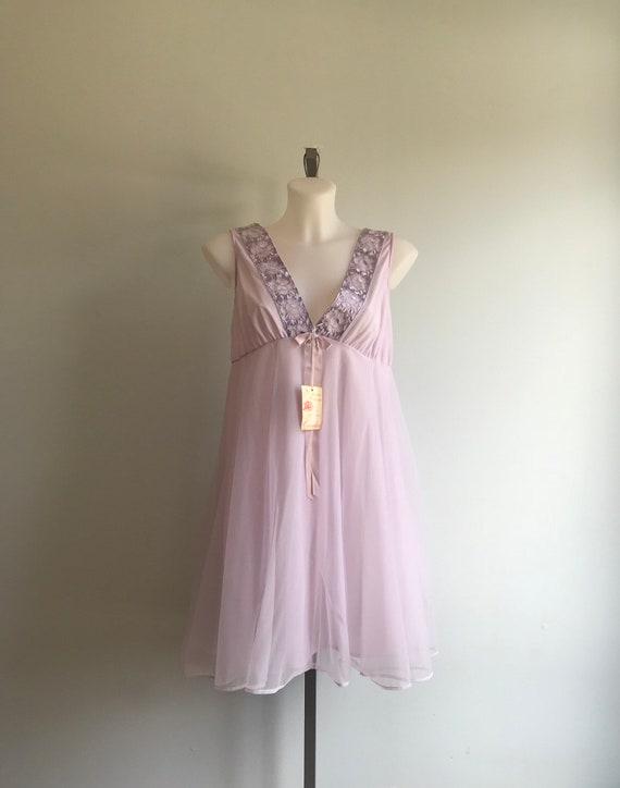 Vintage Chiffon Nightgown, Vintage Nightgowns, Qu… - image 2