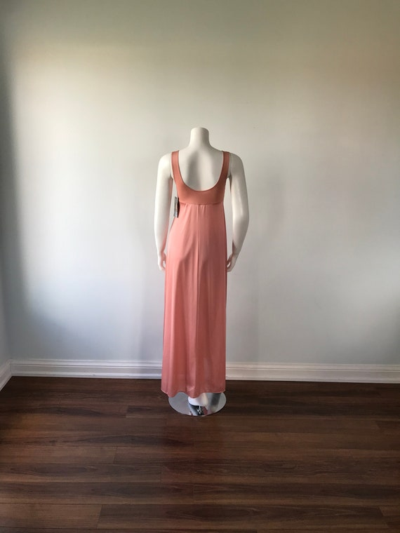 Dusty Pink Nightgown, Kayser, 1980s Nightgown, Vi… - image 7
