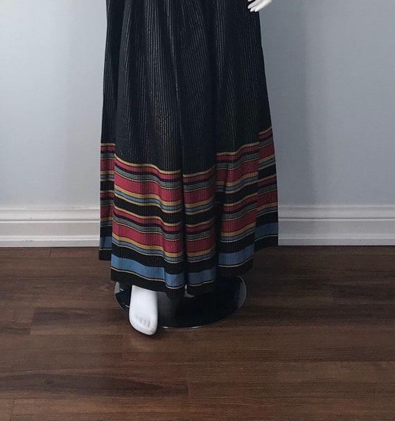 Vintage 1970s Maxi Dress, Strapless Maxi Dress, B… - image 8