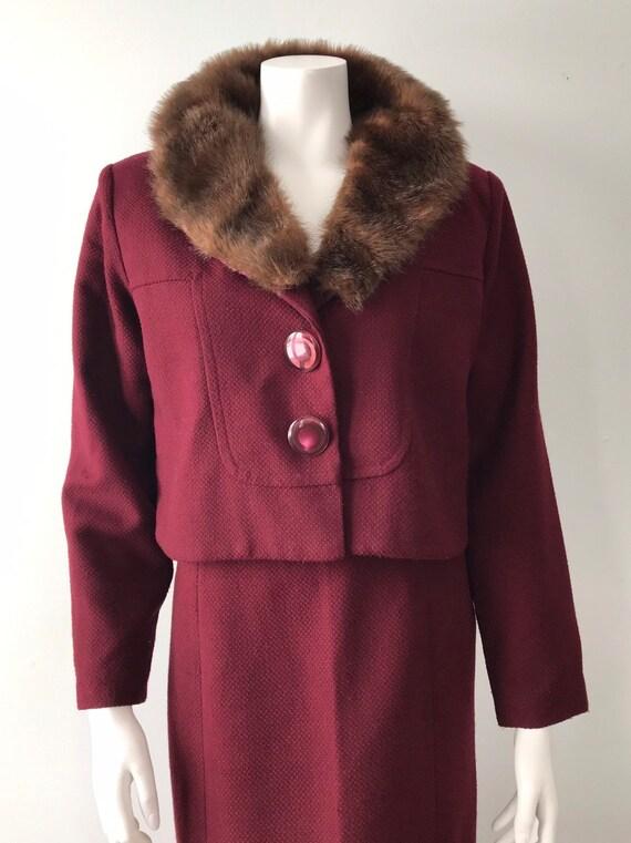 Vintage Skirt Suit, April Cornell, 1980s Skirt Sui