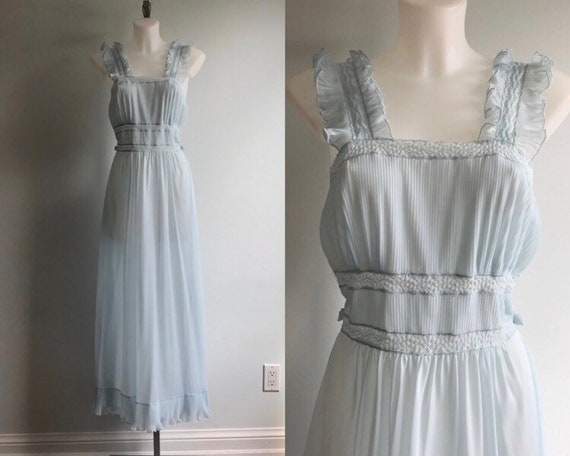Rare Vintage Nightgown, Vintage Nightgowns, 1940's