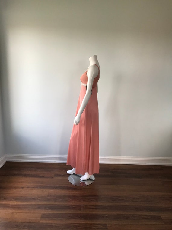 Dusty Pink Nightgown, Kayser, 1980s Nightgown, Vi… - image 5