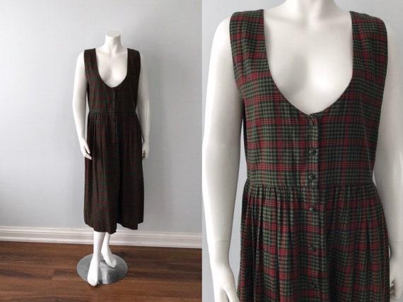 Vintage Jumper Dress, 1990s Dress, Suttles and Sea