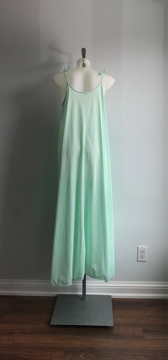 Vintage Nightgown, Mint Green Nightgown, Lov Lee,… - image 5