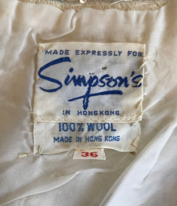 Vintage 1960s Cropped Sequin Top, Sequin Blouse, … - image 10