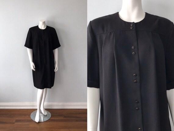 Vintage Black Dress, Vintage Leo Danal, Vintage Bl