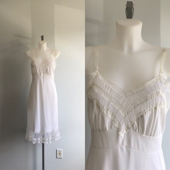 Vintage Ivory Full Slip, Vogue Creation by Beauty