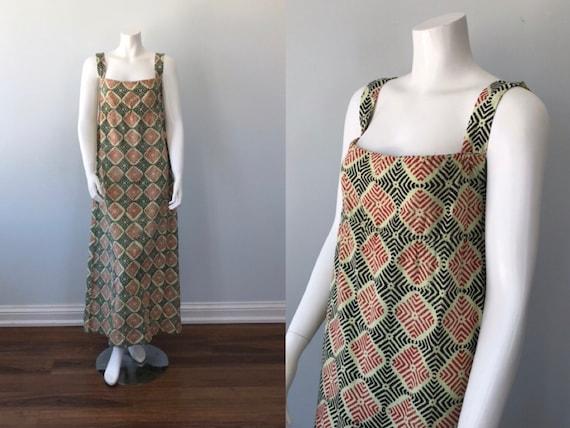 Vintage Dress, Vintage Summer Dress, Summer Dress,