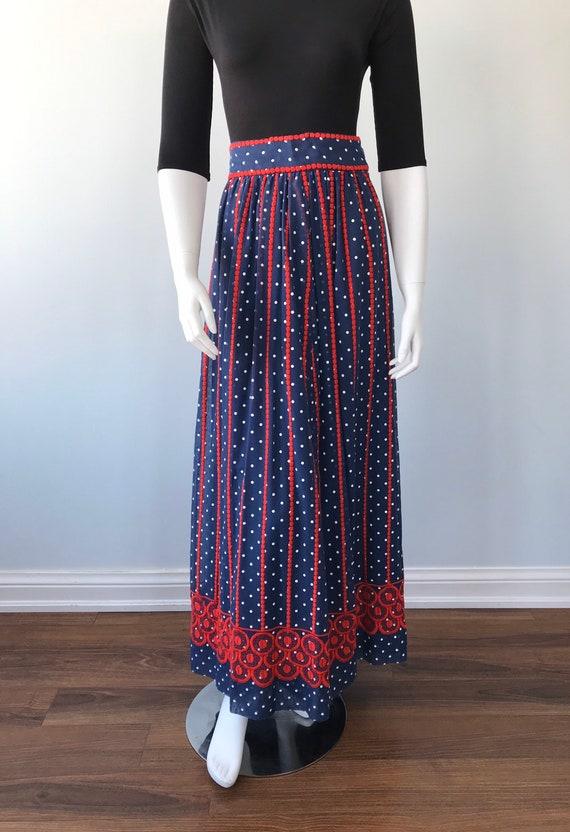 Vintage Helen Howell Maxi Skirt, Vintage Maxi Ski… - image 3
